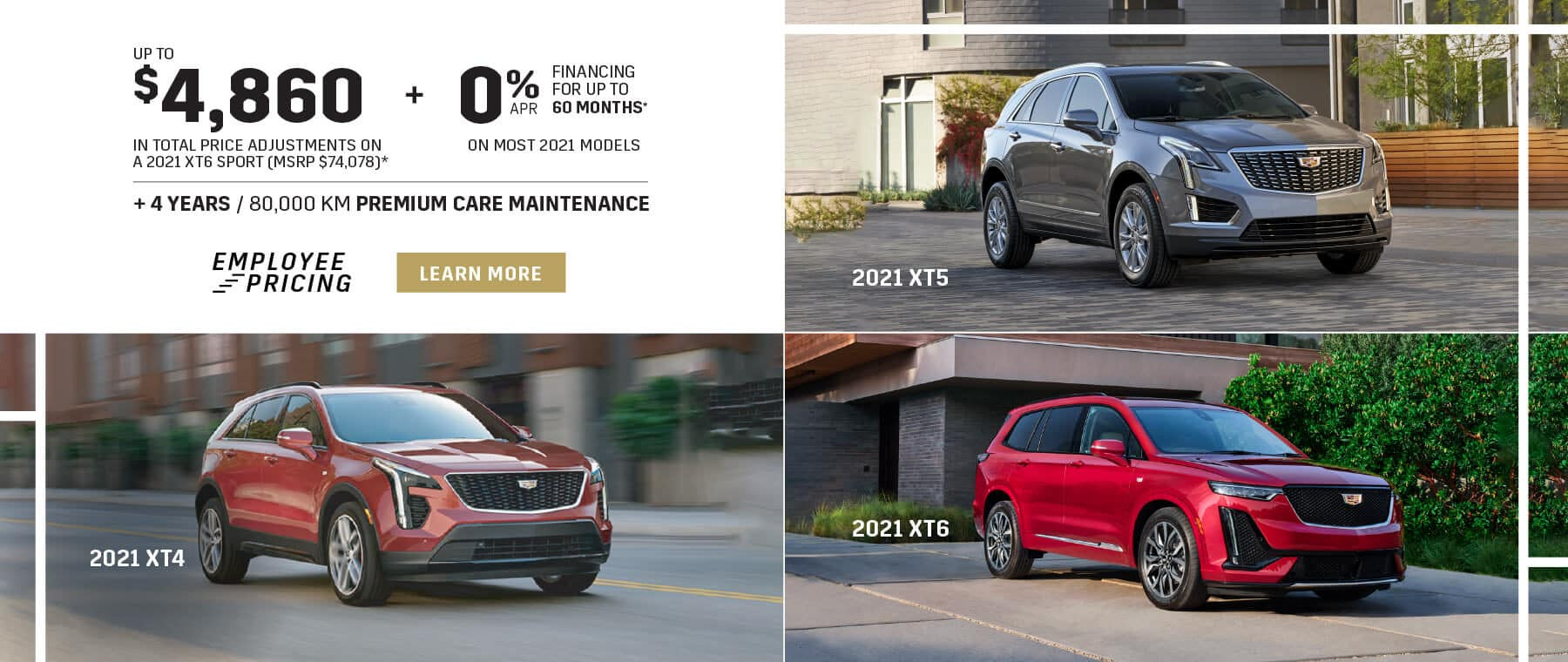 Cadillac Employee Pricing in Mississauga - Applewood Cadillac