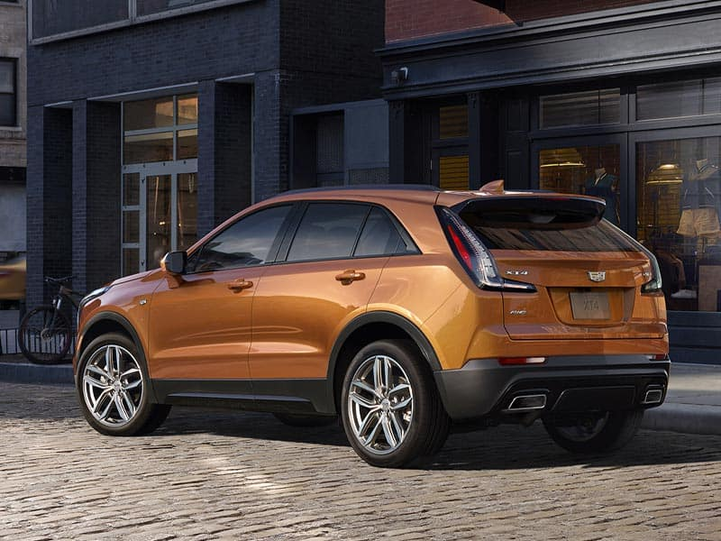 2021 Cadillac XT4 trim levels
