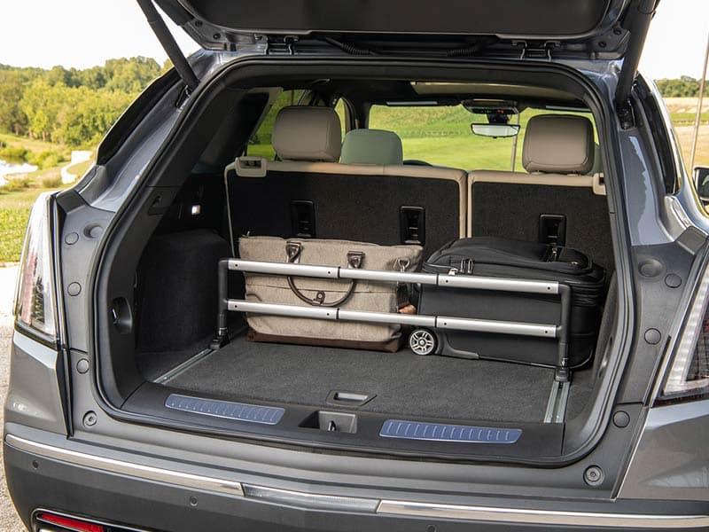 2021 Cadillac XT5 cargo space