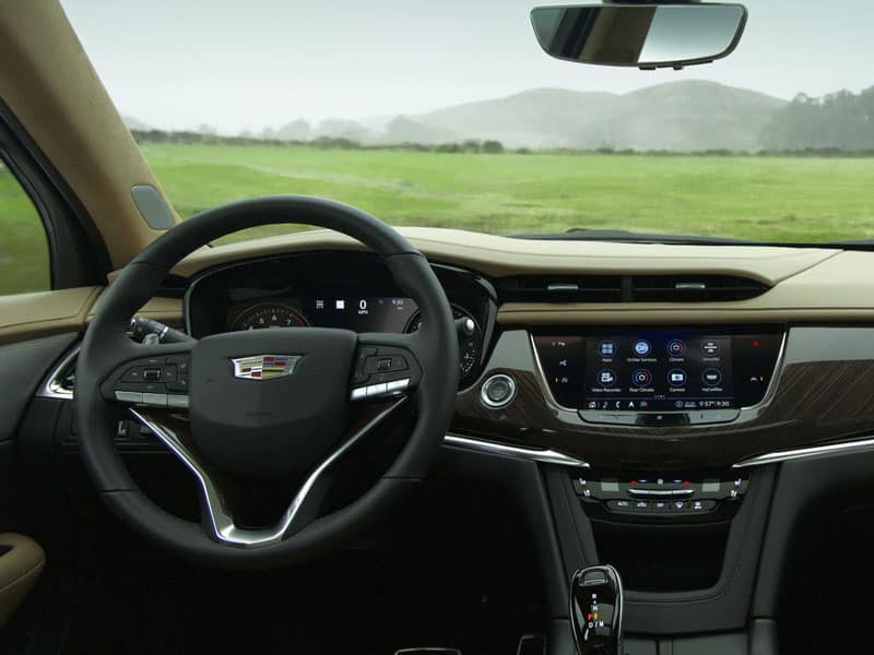 2021 Cadillac XT6 interior comfort and technology