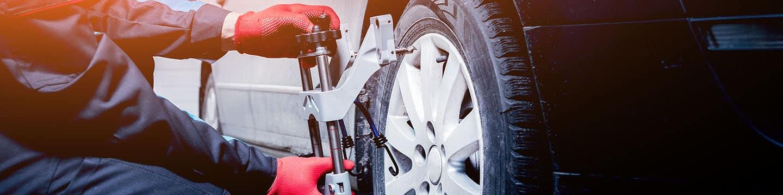 Tire Alignment at Bob Moore Cadillac Norman