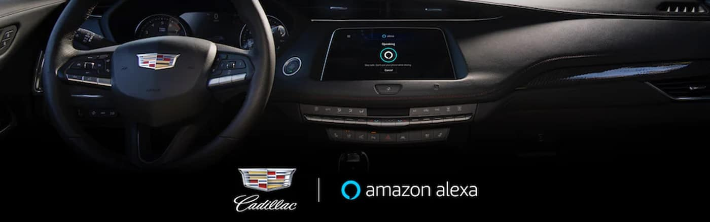 Amazon Alexa Built-in with Your Cadillac