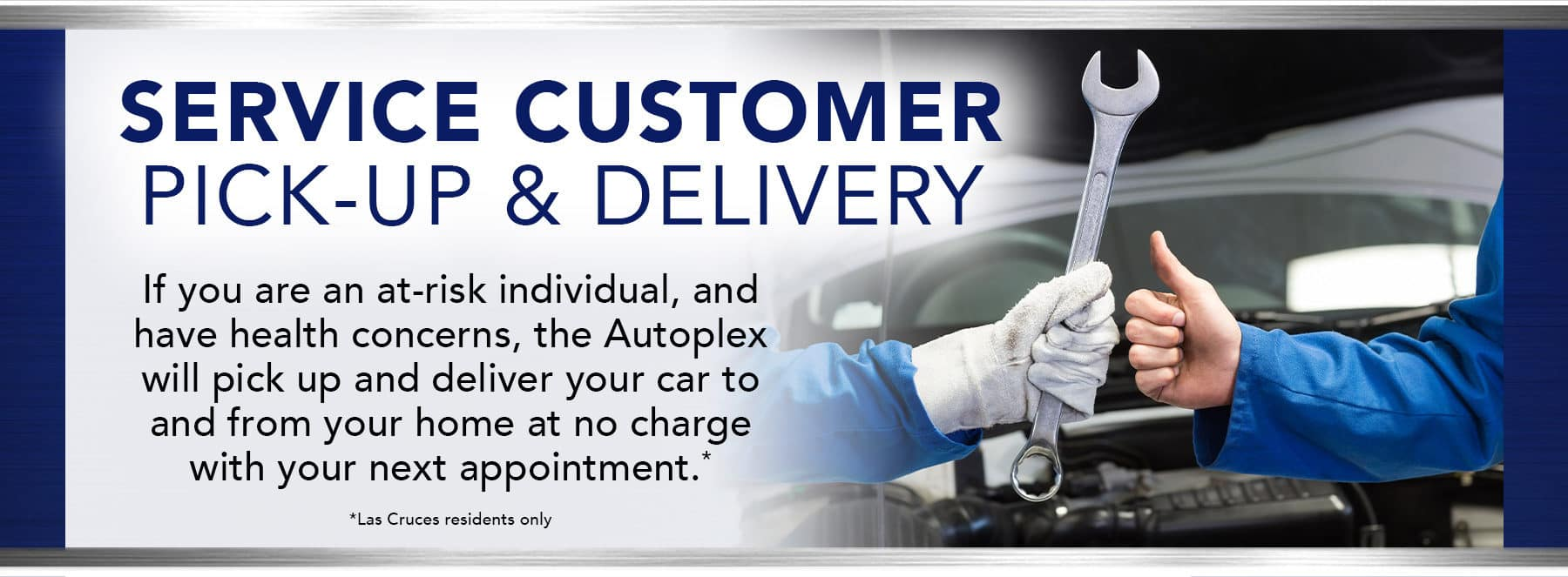Service Customer Pick-Up And Delivery