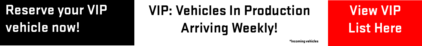 new incoming vehicles weekly