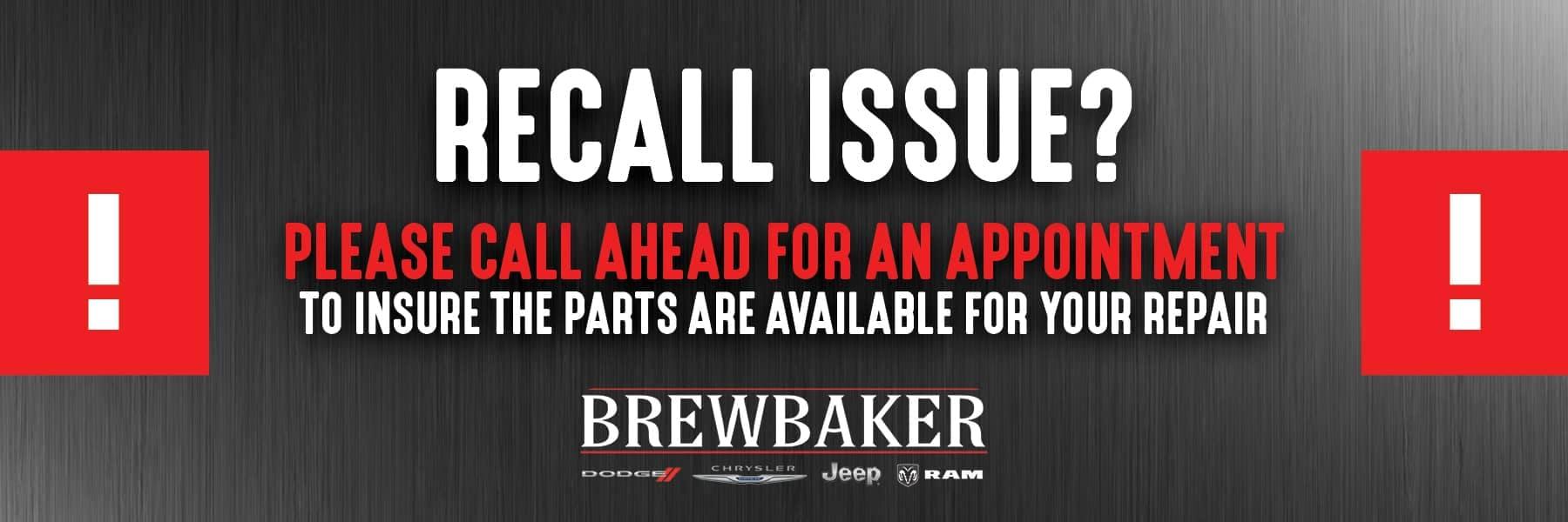 Brewbaker Recall