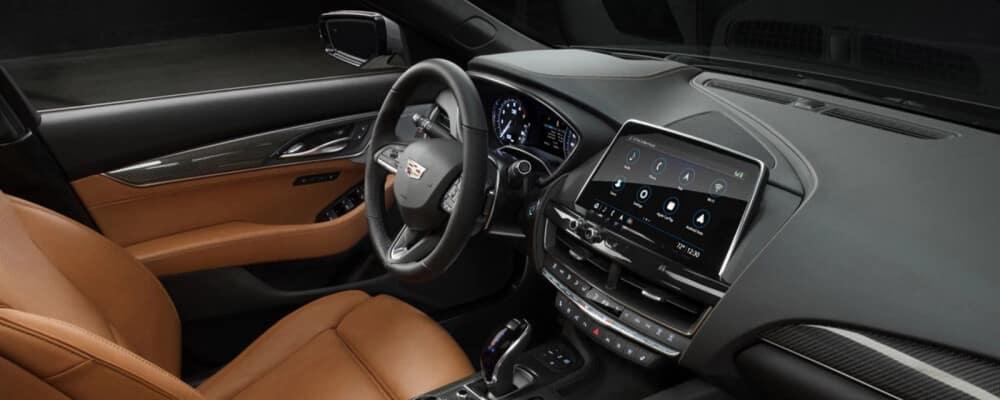 2021 ct5 interior