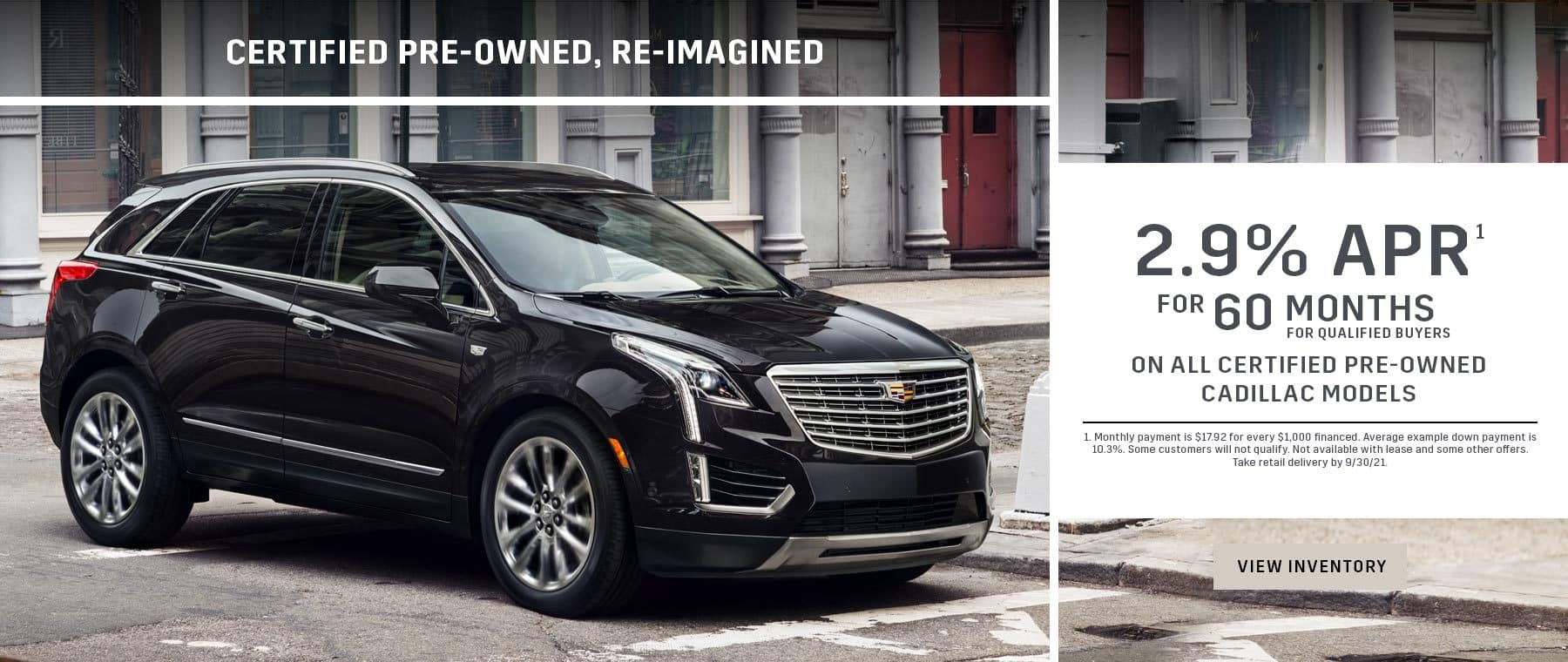 September Pre Owned Cadillac Offers