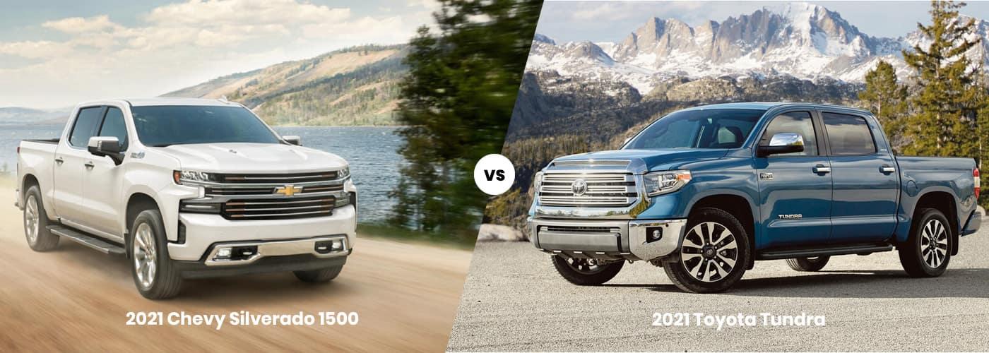 2021 chevy silverado vs tundra
