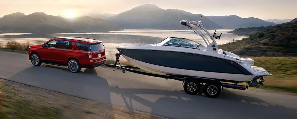 2021 tahoe towing