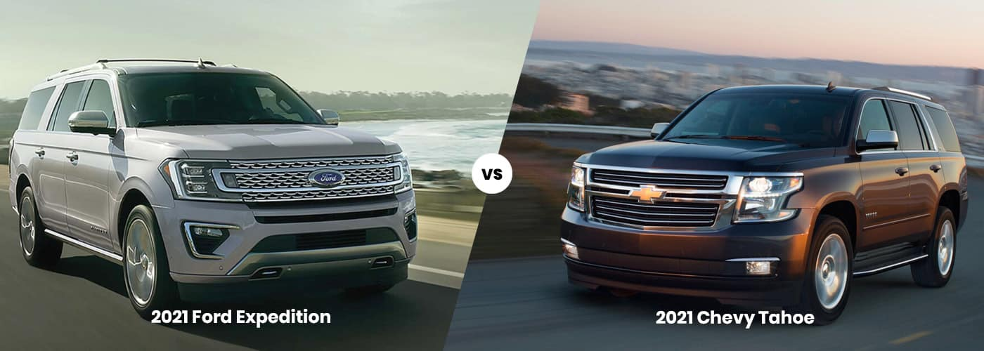 ford expedtion vs tahoe