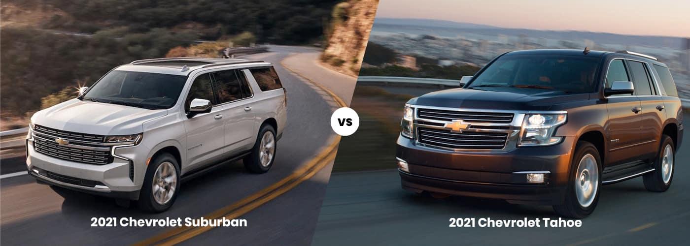 suburban vs tahoe