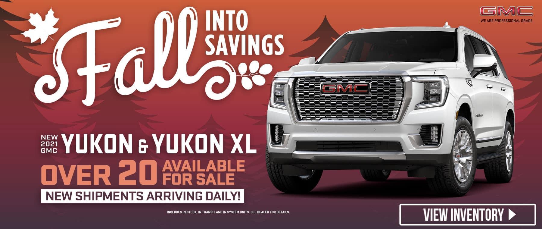 New 2021 GMC Yukon & Yukon XL - Over 20 Available