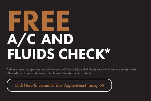 Free A/C & Fluids Check