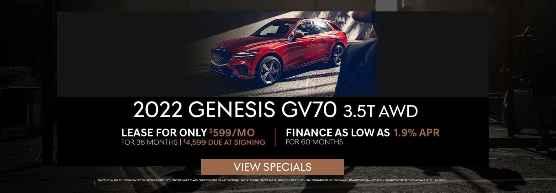 June GV70 Specials
