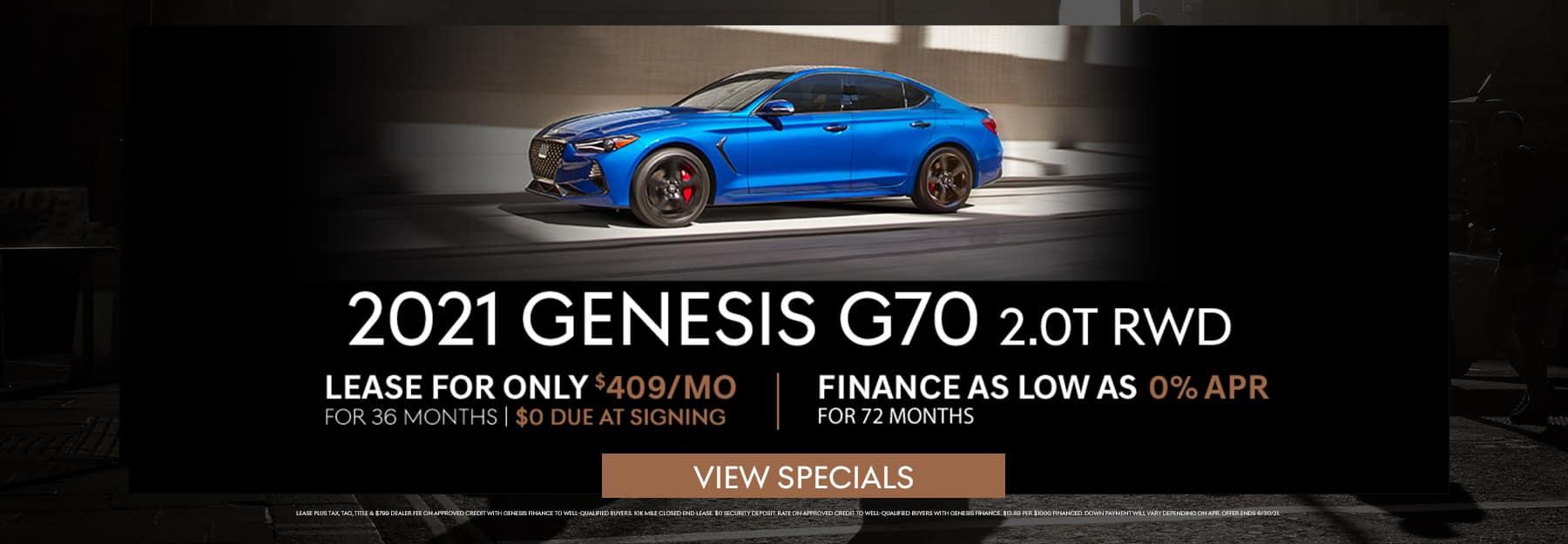 June G70 Specials