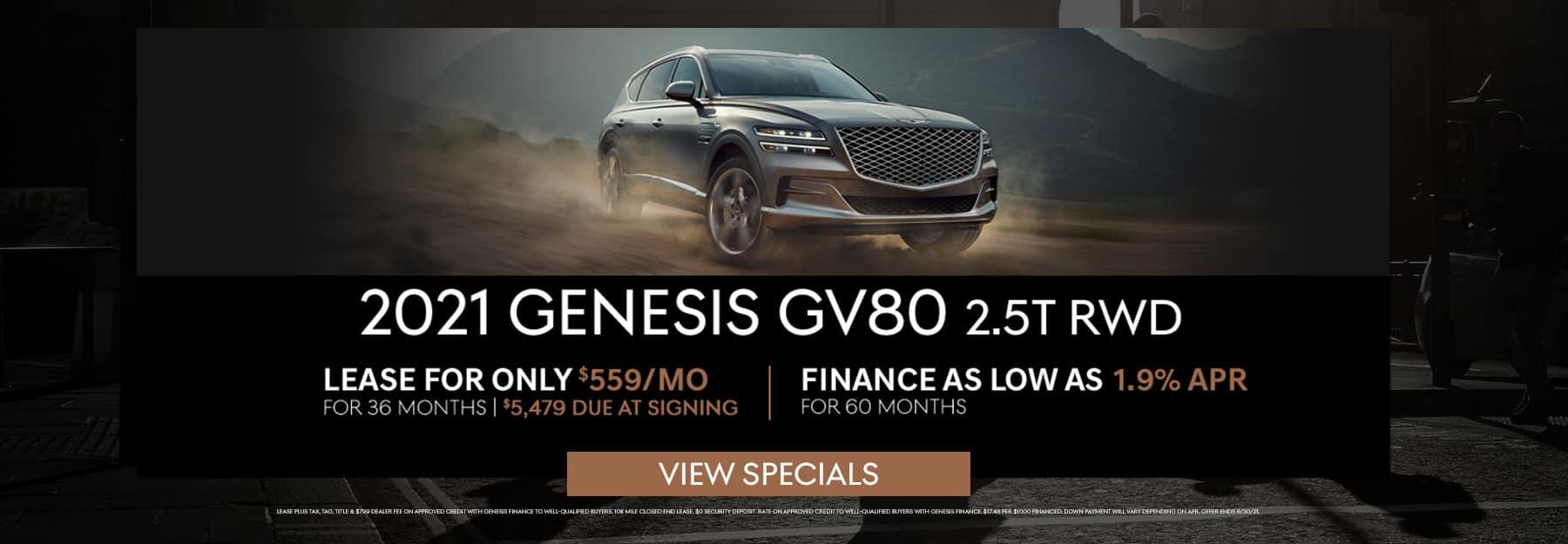 June GV80 Specials
