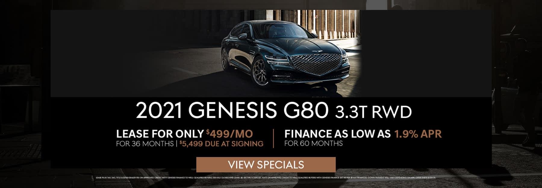 G80 June Specials