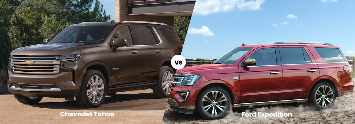2021 Cheevy Tahoe vs 2021 Ford Expedition