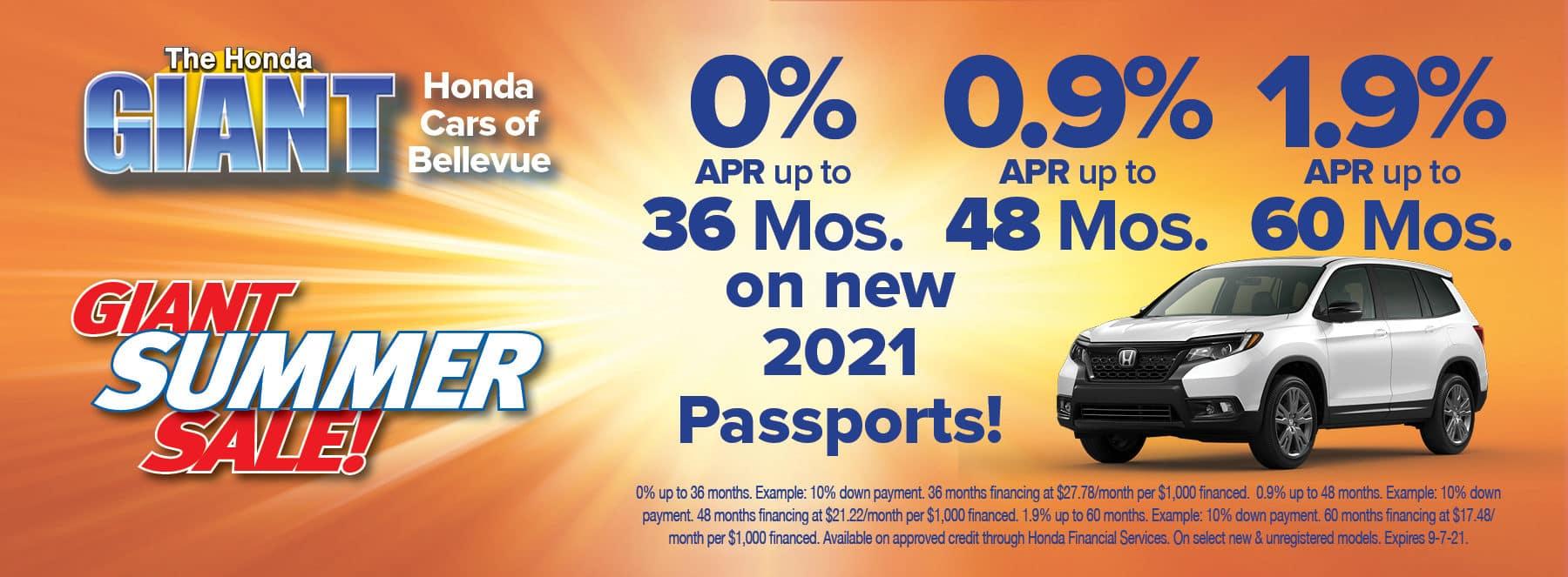 Passport July 2021