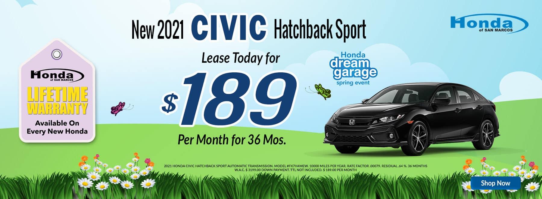 April - 2021 Civic H