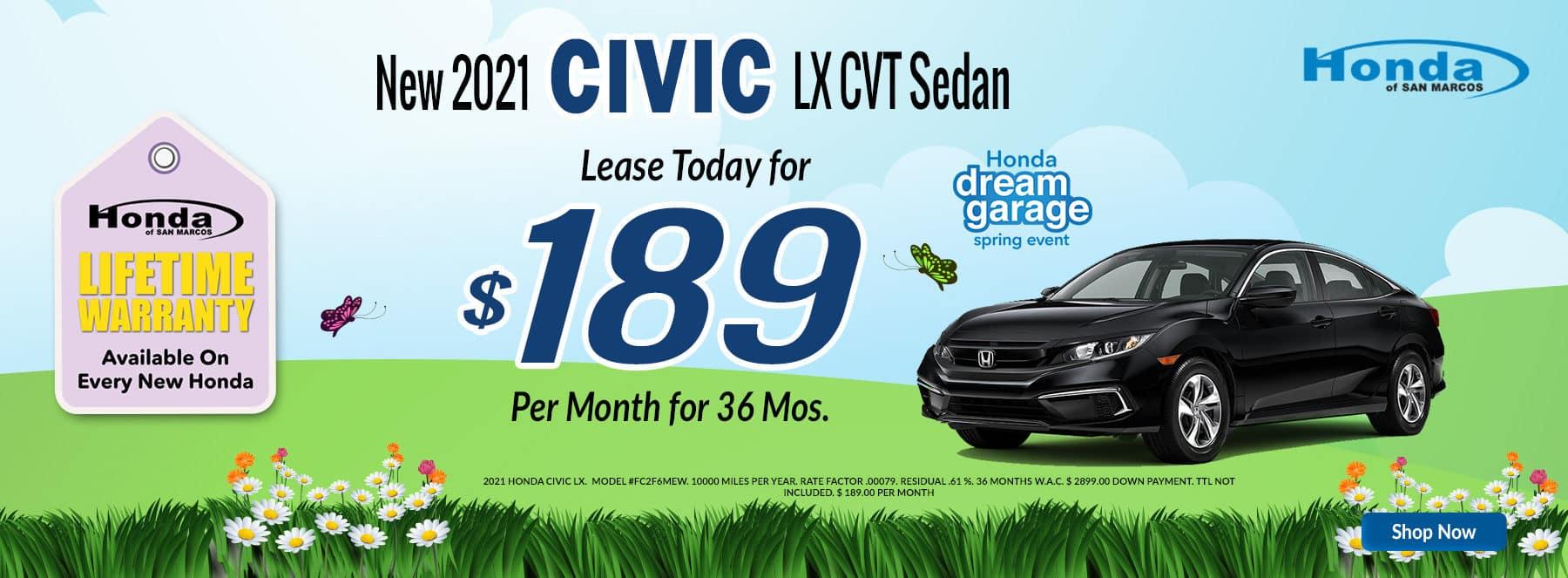 April - 2021 Civic