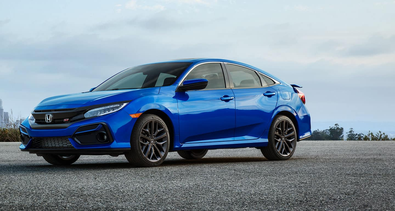 2021 Honda Civic - Blue Exterior