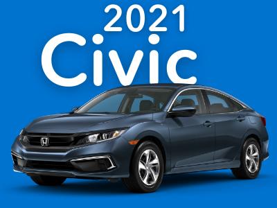2021 Civic Sedan LX