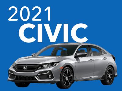 2021 Civic Sedan Hatchback CVT Sport