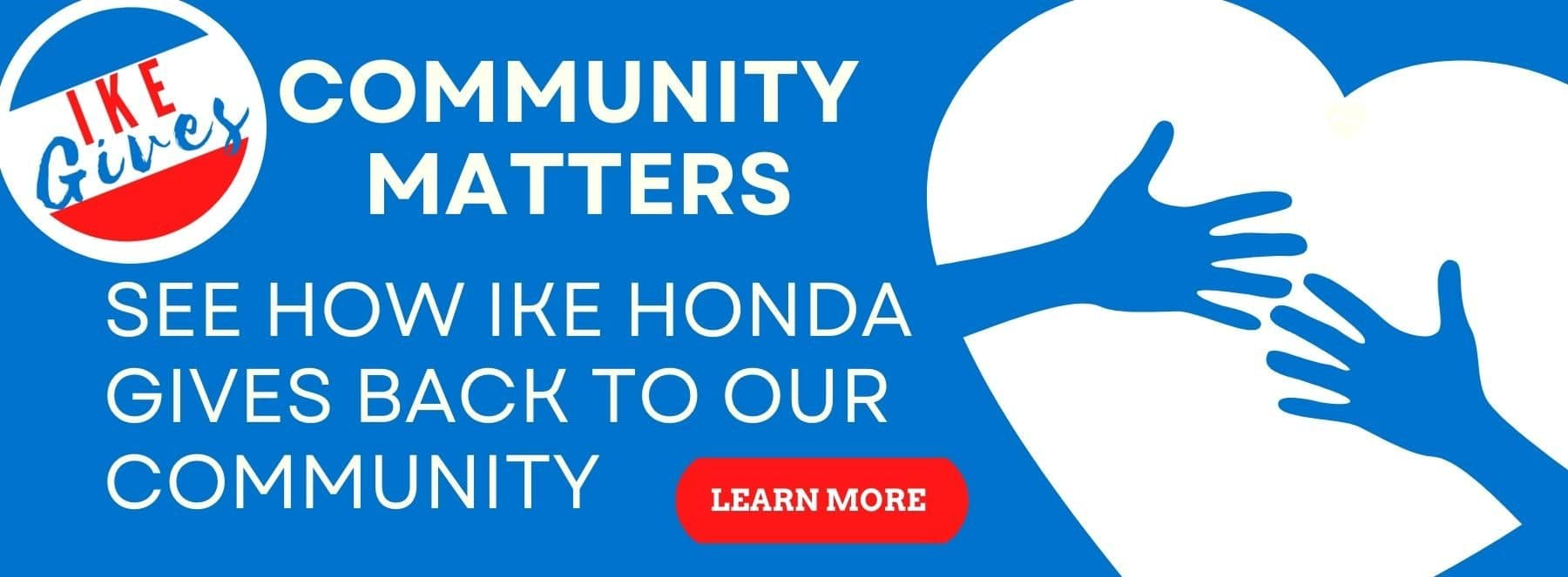Ike Honda gives back to our community