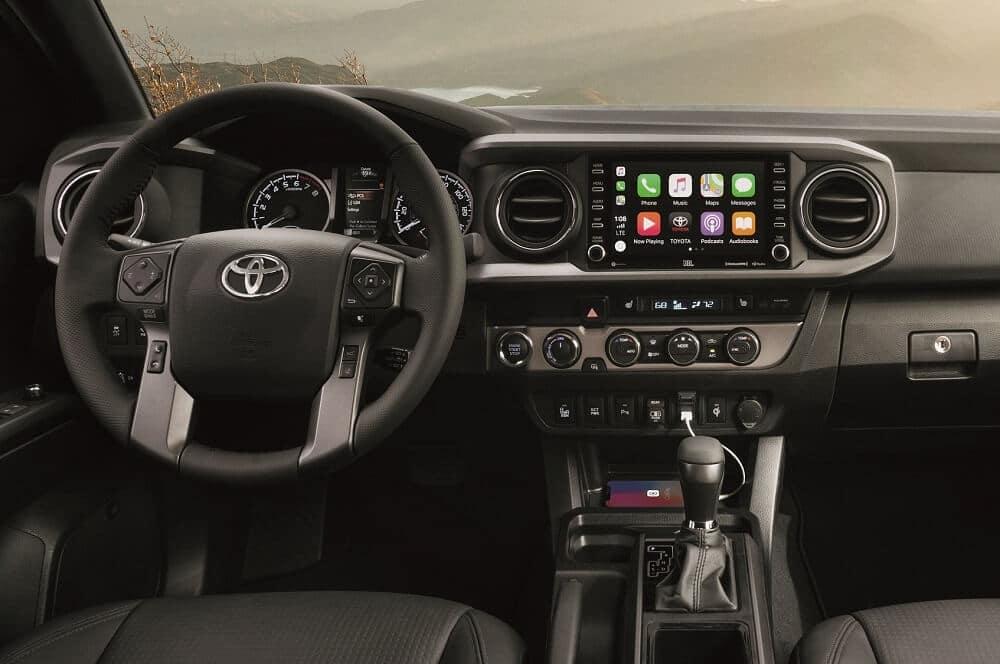 2021 Toyota Tacoma Interior Technology