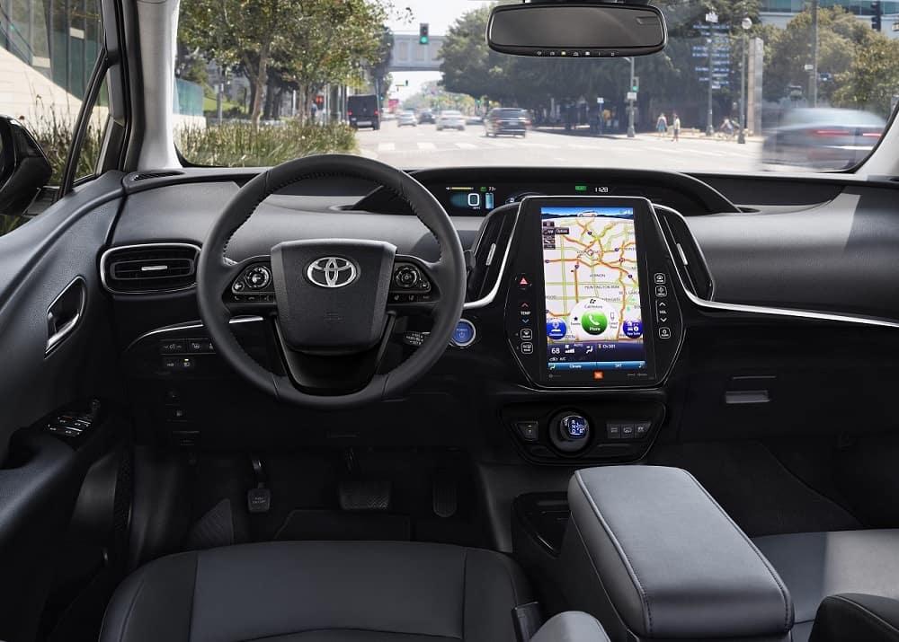 2021 Toyota Prius Prime Interior Technology