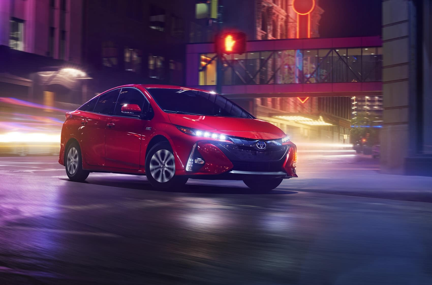 2021 Toyota Prius Prime Driving