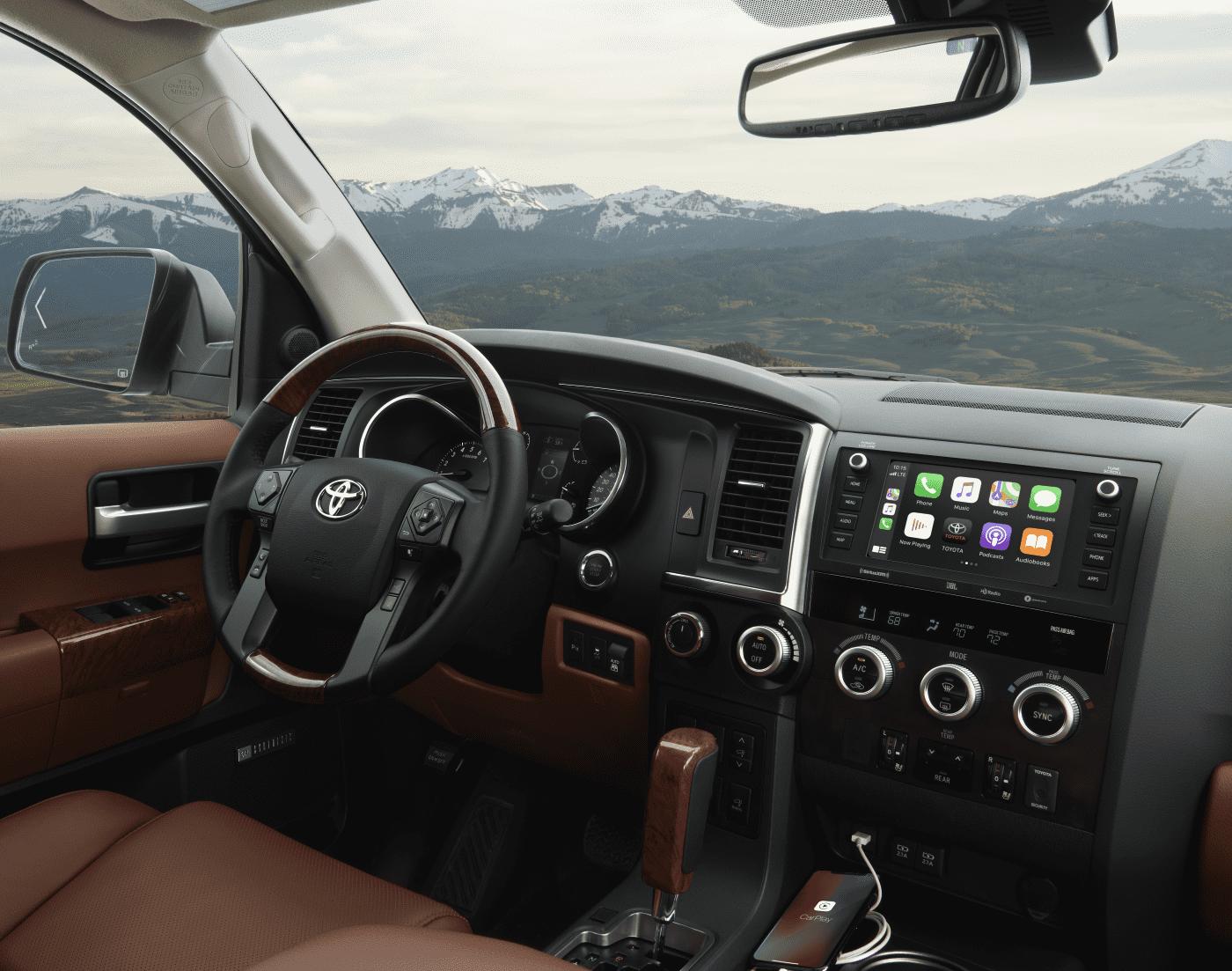 2021 Toyota Sequoia Dashboard