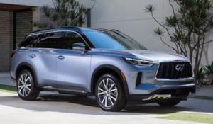 2022 INFINITI QX60 SUV Blue-Purple Exterior