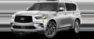 2021 INFINITI QX80 SUV Silver Exterior