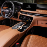 Inside the 2022 INFINITI QX60 Front Seat