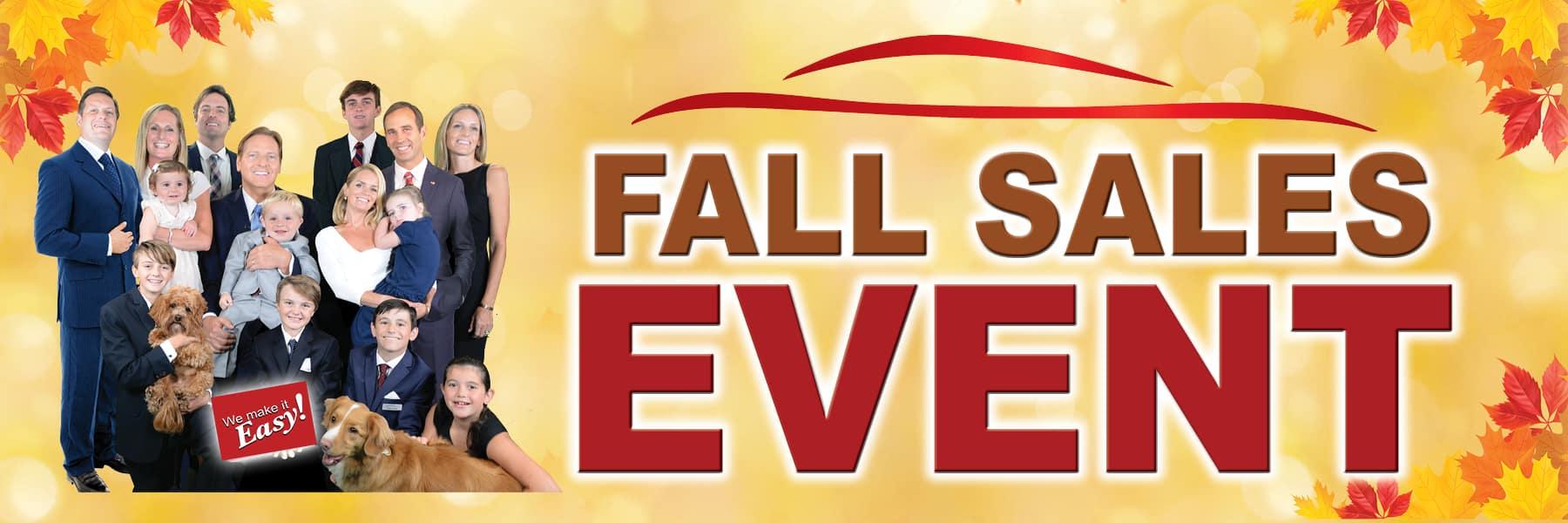 Kelly INFINITI Fall Sales Event