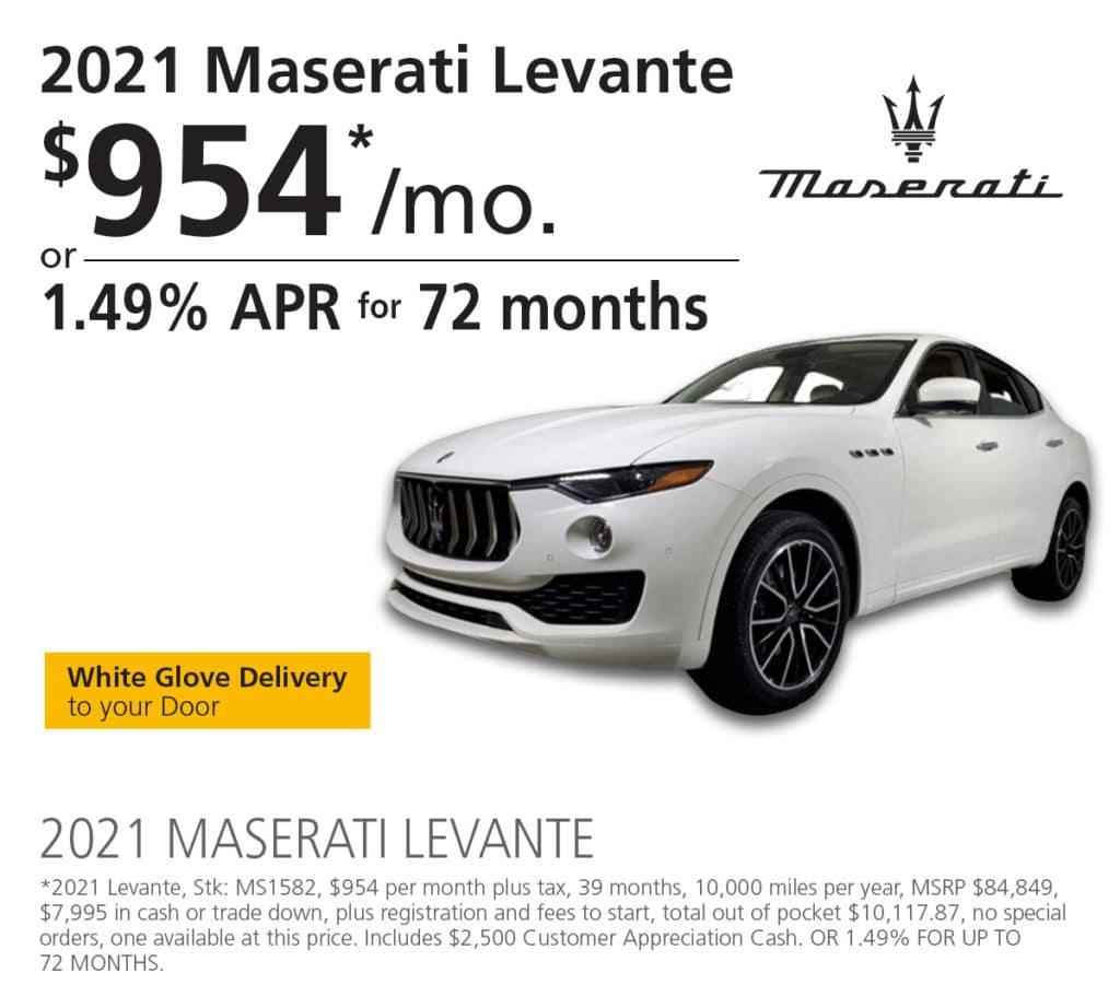 New Maserati Special