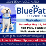 Blue Path Service Dogs event