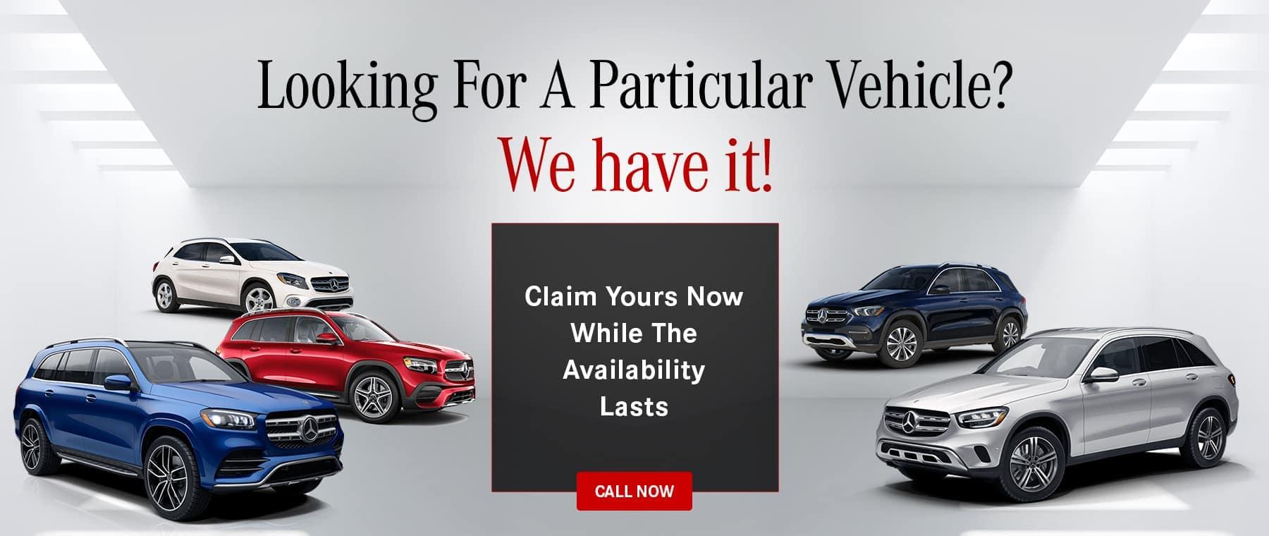 Mercedes-Benz Of Bourbonnais Claim Your Vehicle