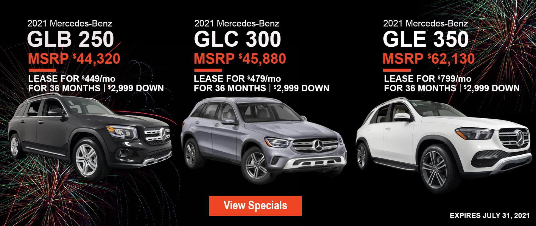 July Vehicle Specials 1