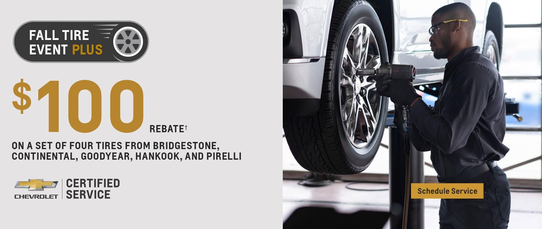 Tire Rebate Offer – Desktop