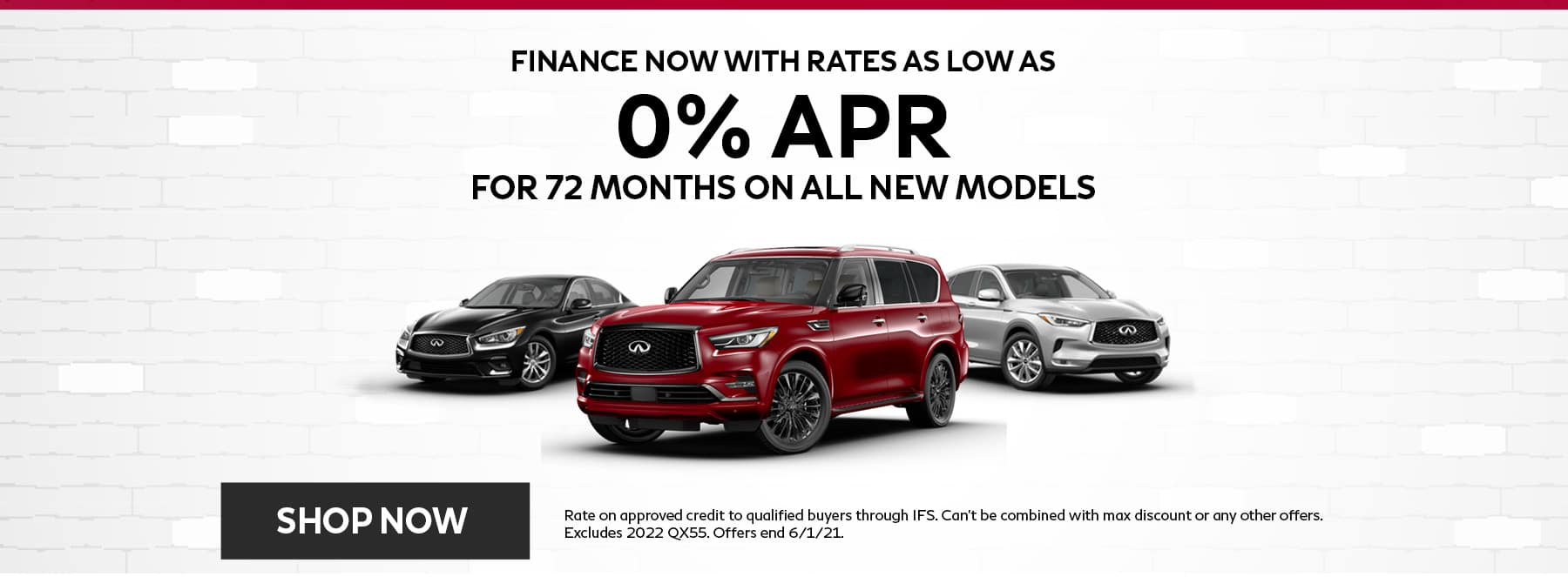 New INFINITI May Offers