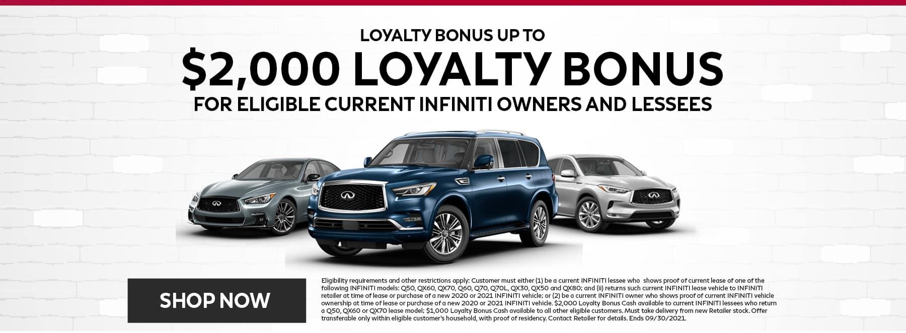 Loyalty Bonus September Offer