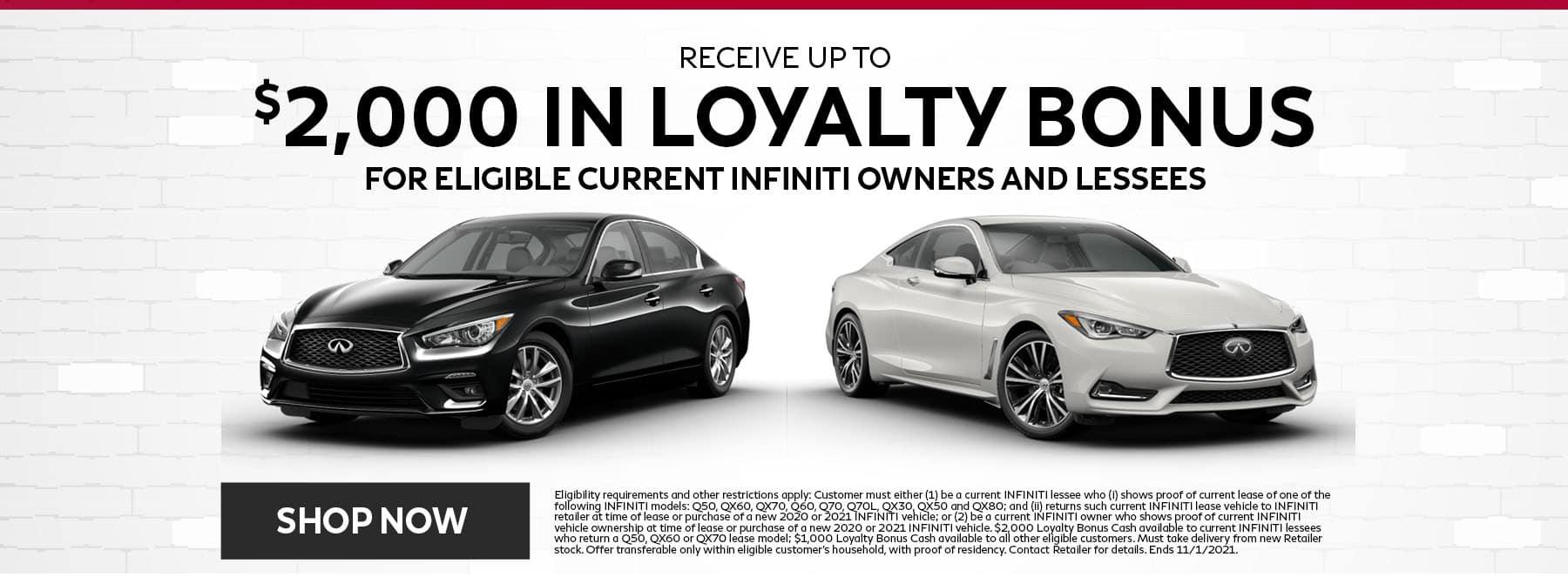 Loyalty Bonus Offer