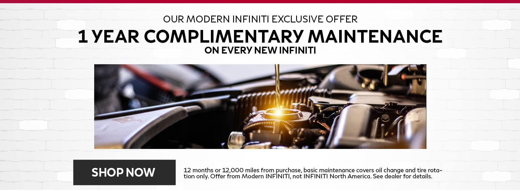 Modern Maintenance Offer