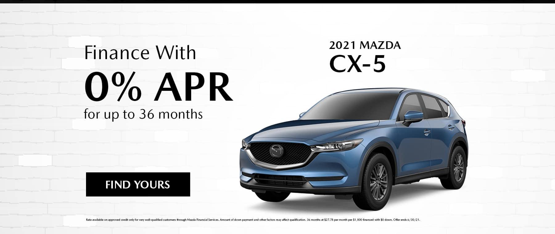 June Mazda CX-5 Specials
