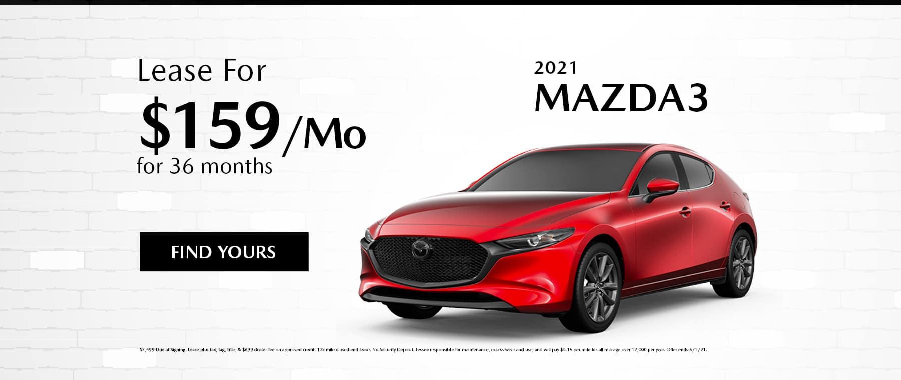 MAZDA3 May Special Desktop
