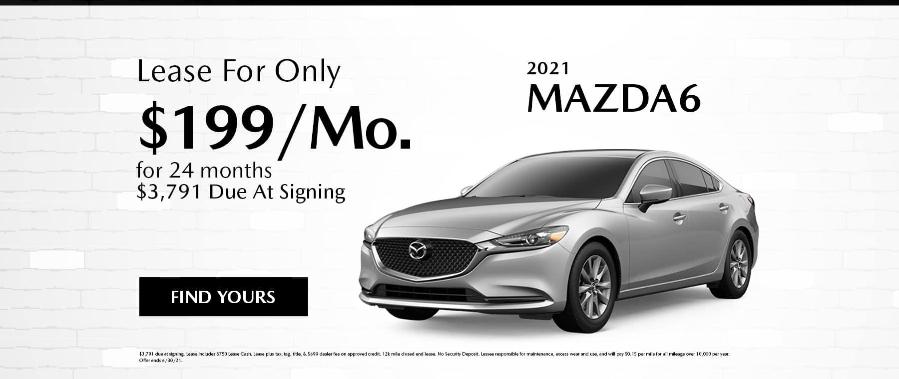 June Mazda6 Specials