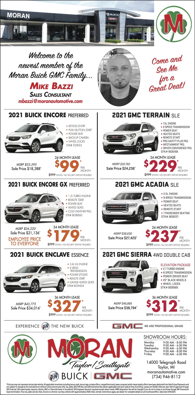 New Vehicle Newspaper Ad